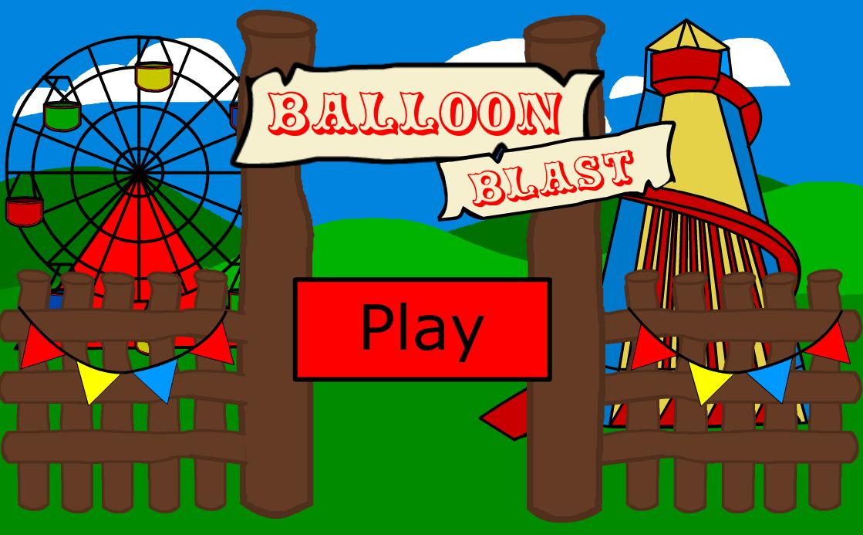 Balloon Blast Game Home