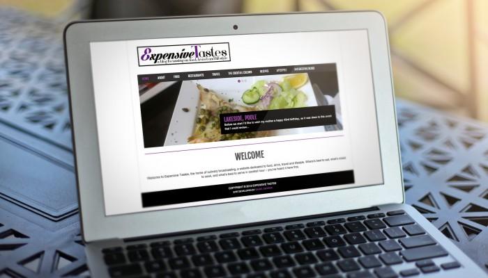 Expensive Tastes Website